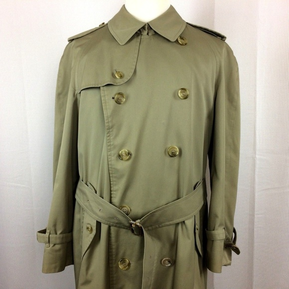 Burberry Other - Burberrys Double Breasted Belted Trench Coat